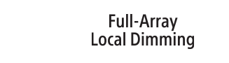 Logotipo de Full Array Local Dimming