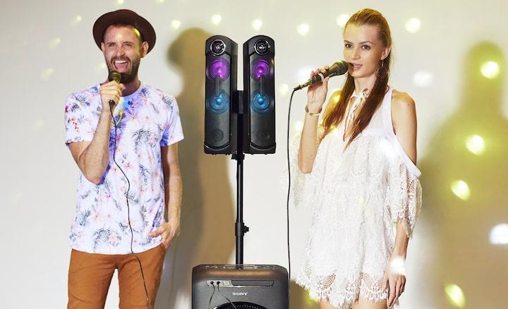 Funciones de karaoke