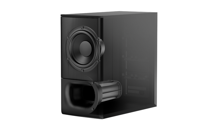 Potente subwoofer inalámbrico