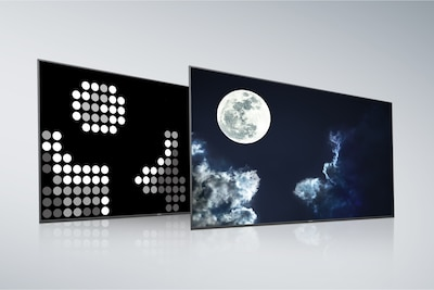 Full Array LED de Sony con pantalla y panel posterior X-tended Dynamic Range PRO