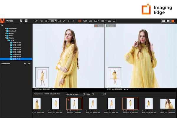 Imaging Edge™ Remote, Viewer y Edit